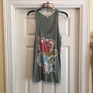 Andrew Charles Flower Patch Tank